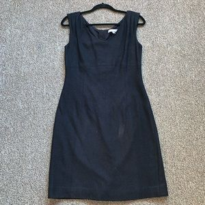 Banana Republic Sleeveless Wool Sheath Dress